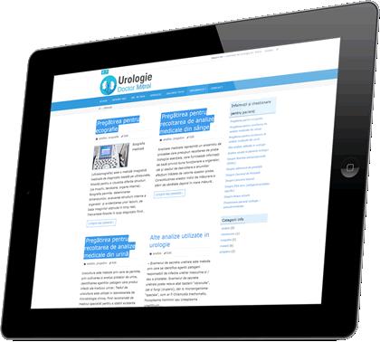 Informaţii medicale urologie şi chestionare pentru pacienţi